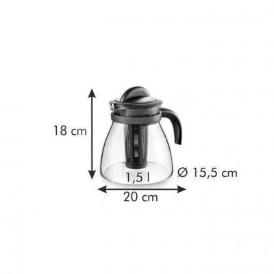 TEA MAKER 1,5 L, AVEC...