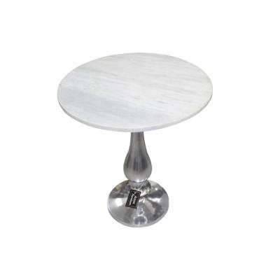 TABLE EN METAL RONDE
