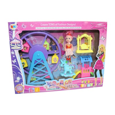 JEU DE MANEGE FASHION GIRL